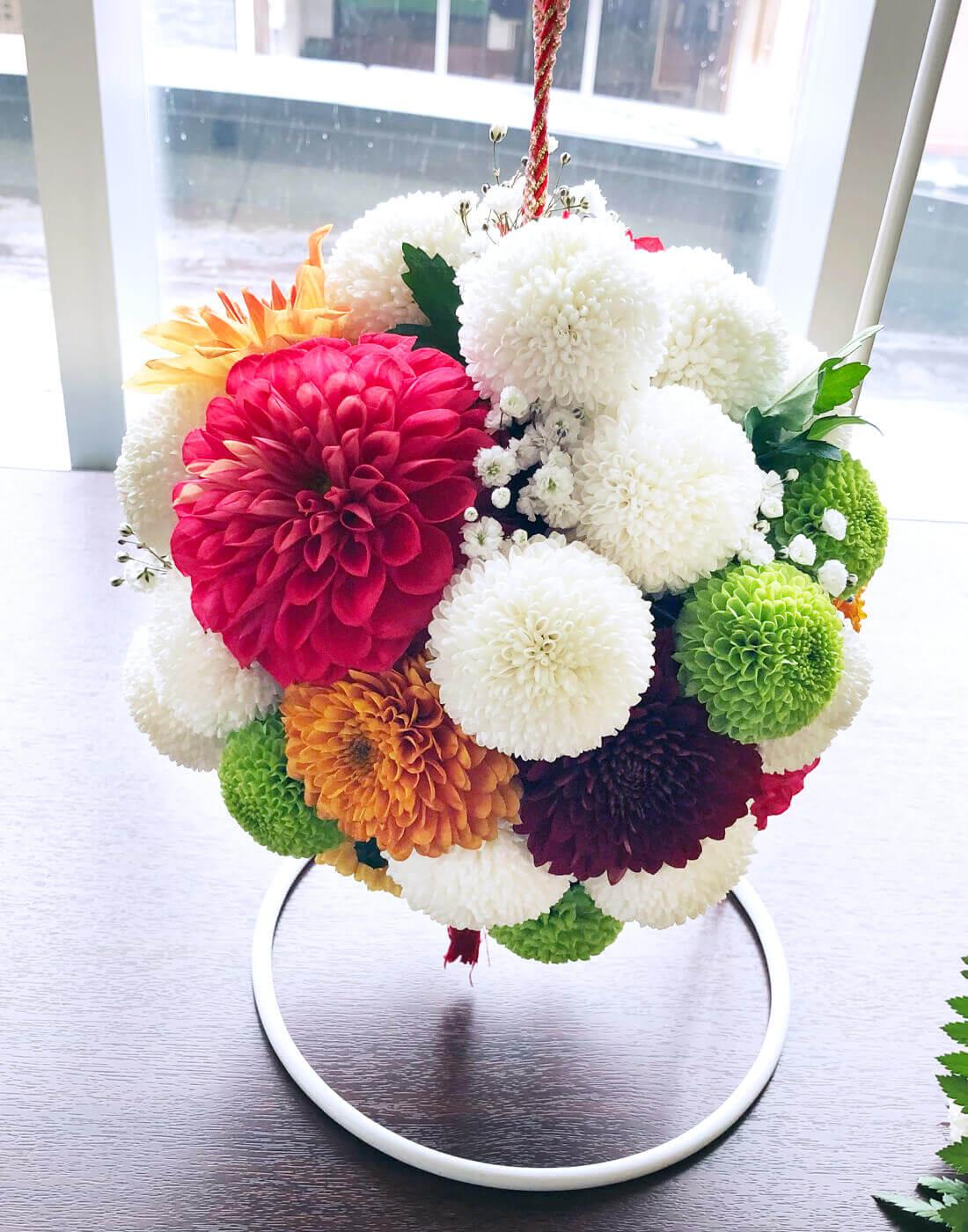 花はるのウエディングブーケ19