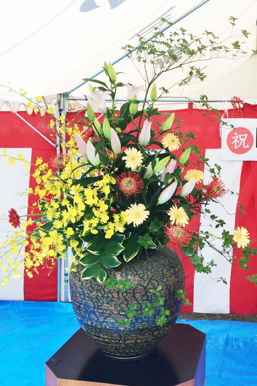 花はるのイベント用装飾花12