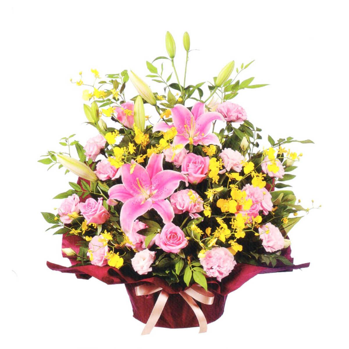 花はるのプレゼント用祝い花3