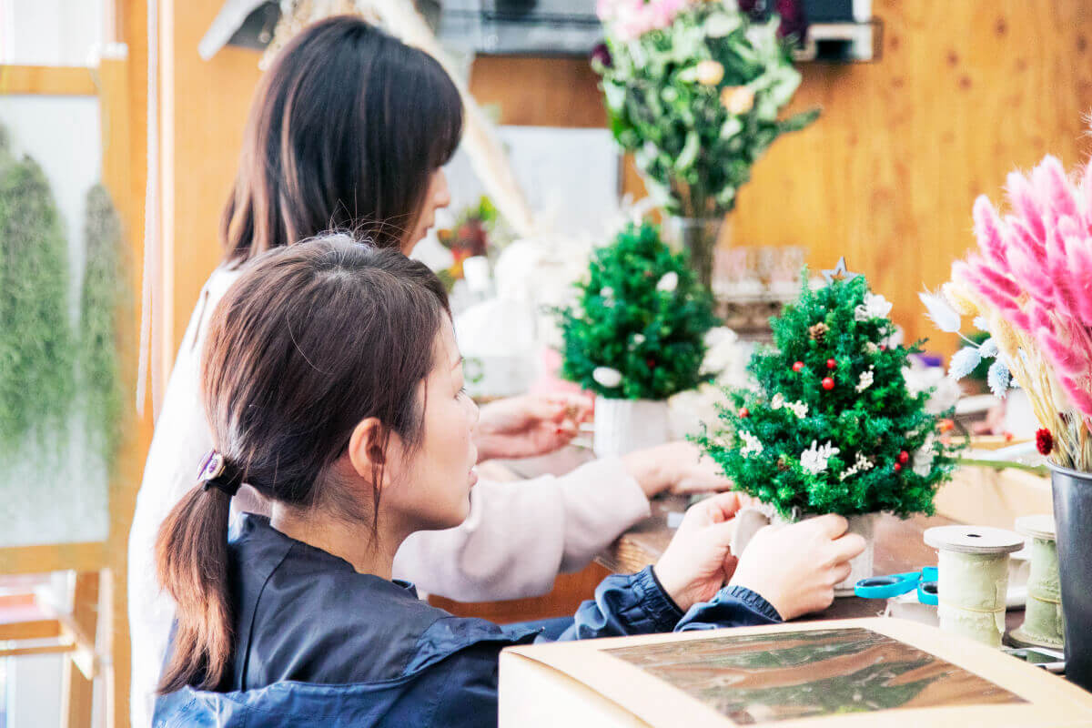 古座川町で予約制の少人数ワークショップ